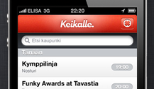 Image of my design for Keikalle.com