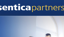 Image of my design for Sentica Partners